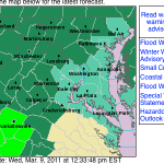 Nelson & Wintergreen : Flood Watch Continues Through Thursday Evening
