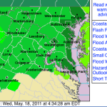 Nelson & Wintergreen : Flash Flood Watch Extended Into Wednesday Night