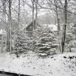 Snow Returns To The Mountains Of Nelson County, Virginia : Updated Photo 12 Noon