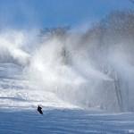 Snowmaking on Dobie