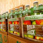 It's Official And About To Be In Stores : Bold Rock Bottles First Round Of Hard Cider