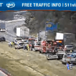 Multi Car Accident Slows Traffic On I-64 WB Near Albemarle / Nelson Line
