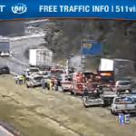 Multi Car Accident Slows Traffic On I-64 WB Near Albemarle / Nelson Line