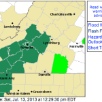 Flood Watches Continue For Limited Parts Of South Central Virginia -  ! EXPIRED !