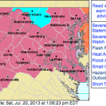 SEVERE THUNDERSTORM WATCH: ! EXPIRED !