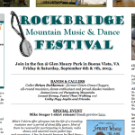 Rockbridge Mountain Music & Dance Festival Gets Underway Friday Through Saturday