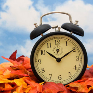 Daylight Saving Time ends this weekend on Sunday - November 3, 2013 at 2AM, but simplicity's sake it's easier to turn your clock back one hour before bed on Saturday night.