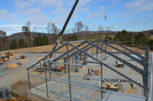Photo Courtesy of Devils Backbone: A major expansion is underway in Lexington, VA at the Devils Backbone Outpost facility.
