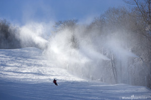 With the coldest temps of the season projected for this weekend, Wintergreen Resort says they will begin making snow on Sunday, just in time for Thanksgiving.