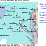 Wind Chill Advisory Continues Until Noon Wednesday