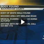 Buckingham: Man's Body Discovered in Wooded Area : Lawmen Say Suspicious : Via CBS-19