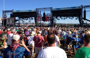 ©2013-2014 Blue Ridge Life: Photo By Marcie Gates : Thousands attended the Lockn' 2013 event. Organizers say they've heard from people living nearby and attendees. They are promising improvements during the 2014 event in early September.