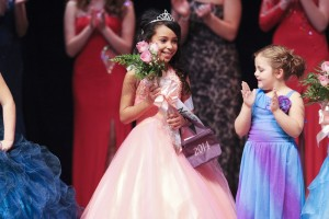 Adriana Vigilante, age 7 was crowned Little Miss Nelson County.