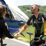 Fellow AirCare5 Member From Texas Pedals Cross Country - Makes Stop On BRP & Wintergreen