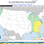 Potential For Severe Weather & Heavy Rains Over - Updated 12 Noon Wednesday