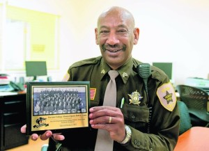 Sgt. Vasco Wright, a long time supervisory with the Nelson County  Sheriff's Department is the second candidate to make his run for the office.