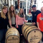 Travelocity Gnome Makes Weekend Stop At Silverback Distillery In Afton