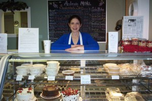 One of our favorite places to eat back in the day was Ambrosia in Nellysford right next door to The Blue Ridge Pig. Lisa Eslambolchi whipped up some of the best sandwiches and desserts around. Though Ambrosia has long been closed after Lisa eventually sold some years later, she continues baking today and her treats can be found in many area restaurants.