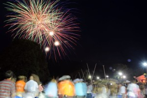 All Content : ©2015 Blue Ridge Life Magazine : Photos By BRLM Mountain Photographer Paul Purpura : Despite scattered showers   over the 4th of July weekend, the weather cooperated perfectly for the annual fireworks display at Wintergreen Resort on July 4, 2015.