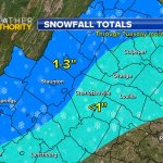Snowfall Not A Big Deal - But Cold On The Way Is!