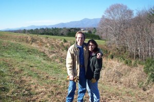 ©2005-2016 Blue Ridge Life Magazine - Nelson County Life Magazine : Back in 2005, Publisher Tommy & Yvette Stafford seen here on the Cris Kringle Christmas Tree Farm in Roseland, kicked off our charter publication called Nelson County Life Magazine. Three years ago this past January we rebranded ourselves to Blue Ridge Life Magazine. Since then the two have grown to four!