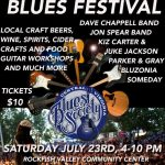 Central Virginia Blues Society  - Blues Festival This Weekend