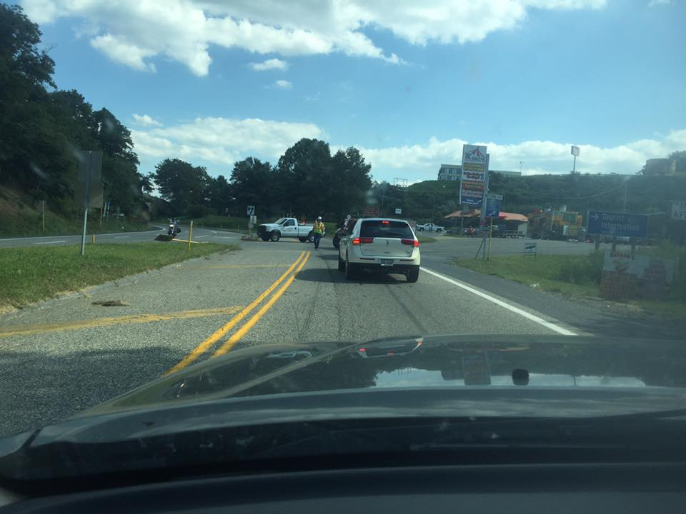 Traffic Alert! : Major Accident at Route 151 & 250