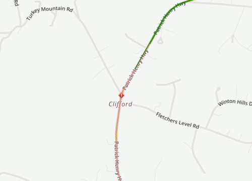 AMHERST COUNTY: ROUTE 151 BLOCKED DUE TO CRASH : Updated
