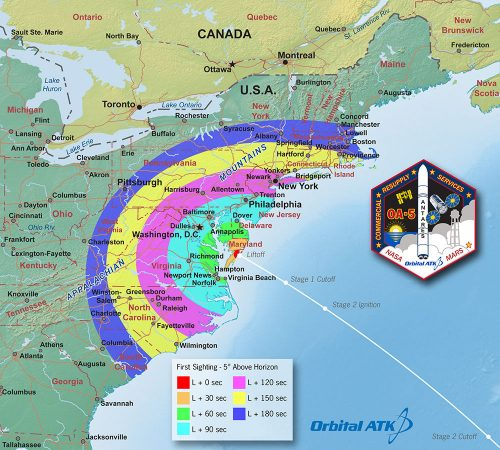 Viewing map : Orbital ATK