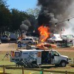 Propane Fire At Festy Grounds In Nelson : Updated 10 AM : 10.10.16