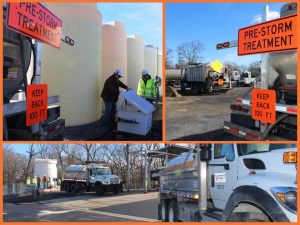Photos courtesy of VDOT Staunton, Virginia : Crew were getting ready to hit the highways and pretreat Wednesday in anticipation of some wintry weather that's predicted for the area late Friday night into early Saturday morning.