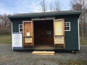©2017 Blue Ridge Life Magazine : Photo By Yvette Stafford : The ReUse or Free Shed at the Recycle Center in Greenfield has reopened as seen in this photo taken on Friday - March 24, 2017.