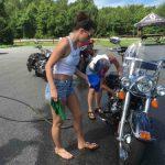 Nelson : Beech Grove : Bikes & Bubbles Helped Raise Money This Past Saturday