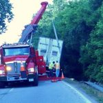 Update : Nelson : US 29 Southbound Reopened After Tractor Trailer Slides Off Highway