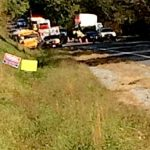Nelson : School Bus Accident Backs Up Traffic On US 29 : No Injuries On Bus