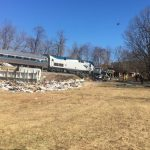 NEWS ALERT : Crozet : Train And Truck Crashes West Of Crozet - One Dead