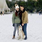 Snow In Savannah, Georgia