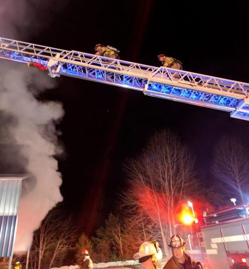 Arrington : Area Fire Crews Battle Large Fire At Lumber Company