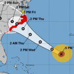 Hurricane Florence Now CAT 4 Targets East Coast For Landfall This Week (Brief Update 11PM Tuesday)