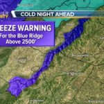 BRP & Skyline Drive Areas Above 3000' - FREEZE WARNING - CANCELED