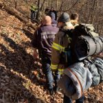 Blue Ridge Parkway : Crews Complete Lengthy Rescue Of Hiker Near Love, Virginia