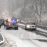 Winter Weather Settles Across The Blue Ridge : Roads Becoming Hazardous : Updated 10:40 AM