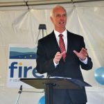 Appomatox : Firefly Fiber Broadband &  CVEC Celebrate First Stop For Rural Broadband