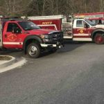 "Nelson County ""Touch a Truck"" : Board Of Supervisors Look Over Fire Equipment"