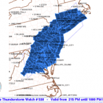 SEVERE THUNDERSTORM WATCH : CANCELED
