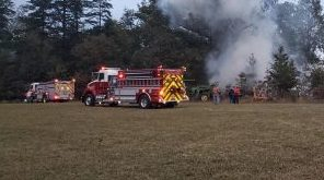 Afton : Crews Battle Fire At Storage Shed