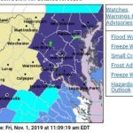 FREEZE WARNING & FROST ADVISORY : Early Saturday Morning