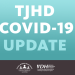 Latest Covid-19 Numbers From TJHD As Of Sunday  AM 3.29.20