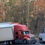 Nelson : Another Day, Another Semi(s) Stuck On Reeds Gap