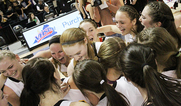 Lady Buffs celebrate State Championship